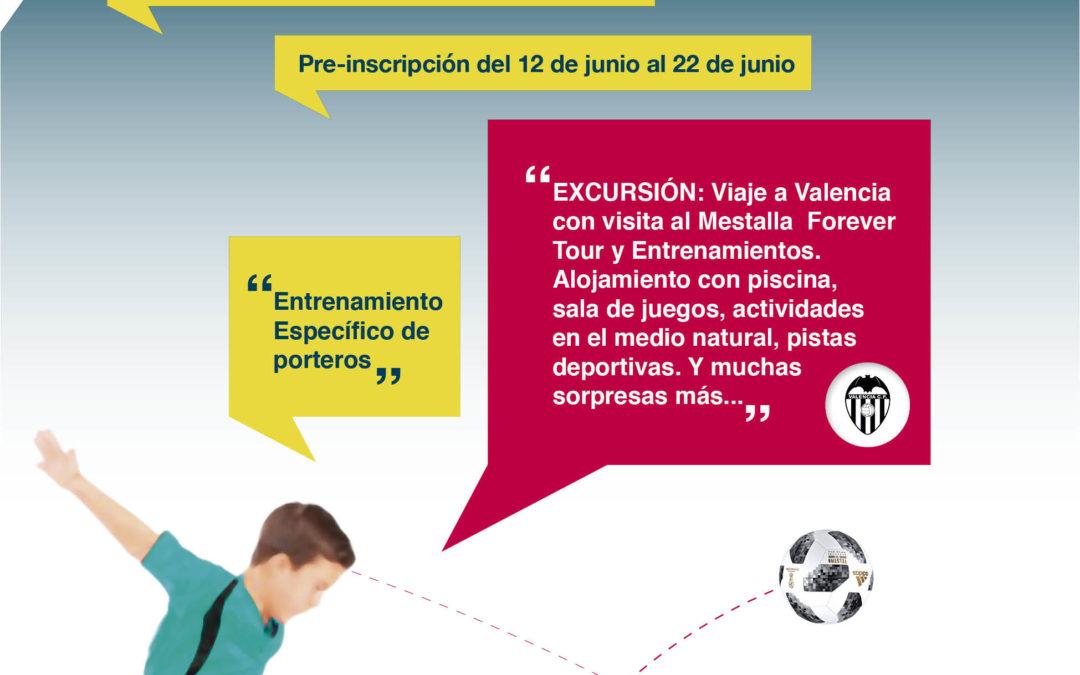 X CAMPUS DE FÚTBOL TIERRA DE GIGANTES – 29 JULIO al 5 JULIO